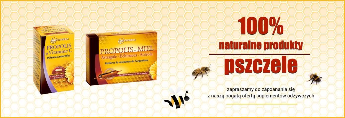 100 % naturalne produkty pszczele